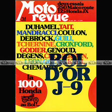 MOTO REVUE N°2185 HONDA CB 125 MAICO 250 MD METTET GODIER-GENOUD BOL D'OR 1974