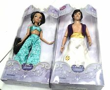 DISNEY CLASSIC DOLLS JASMINE AND ALLADIN NEW ORIGINAL DISNEY 12 INCH