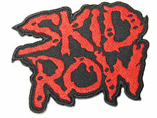 Skid Row Heavy Rock Metal Embroidered Iron On Patch Badge