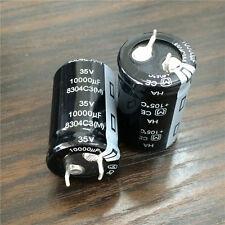 10pcs 10000uF 35V 22x35mm Panasonic HA 35V10000uF Snap-in PSU Capacitor
