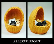 Les chat de A. Dubout scultura gatto * NID Douillet *