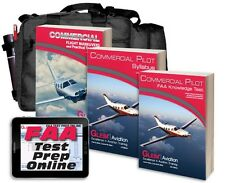 Gleim Commercial Pilot Training Kit with FAA Test Prep Online Software - CURRENT
