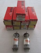 7360 /7752 RCA Valve Tubes - USA -  New Old Stock in original boxes