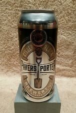 PAVERS PORTER 16 oz. Craft  Beer Can (empty) from Cinder Block, KC, Mo.
