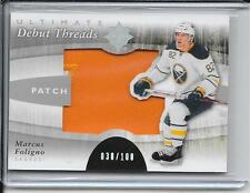 11-12 Ultimate Collection Marcus Foligno Debut Threads Patch #d/100