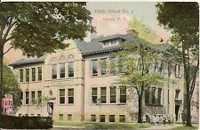 Public School No. 3 Olean New York NY Postcard 1909