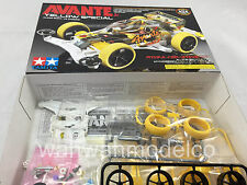 Tamiya 95060 JR Avante Jr. Clear Body VS Chassis Yellow Special 1/32 Mini4WD