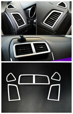 Air Vent Outlet Cover Trim 5pcs for Mitsubishi ASX RVR Outlander sport 2010-2015