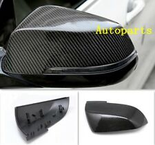 Replacement Carbon Fiber Door Wing Mirror Cover For BMW F20 F30 F34 1 3 Series