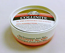 Collinite No. 476S Super Double Coat Auto Wax Protects & Lasts 1 Year. Car Wax