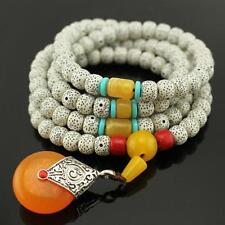 108p Tibetan Buddhist Buddha Meditation Prayer Bead Necklace Mala Bodhi Bracelet