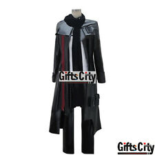 Guilty Crown Shu Ouma Shu Black Uniform Cosplay Costume New Cos Cloth Arrive