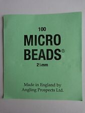 Multi use Micro beads 2.5mm rack of 100 Black colour