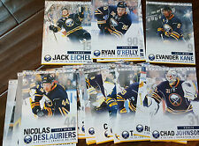 2015-16 BUFFALO SABRES TEAM ISSUE 30 CARD SET JACK EICHEL O'REILLY LEHNER KANE
