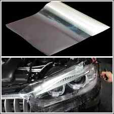 100cm x 30cm Car Headlight Tint Vinyl Transparent Wrap Film Sheet Decal Sticker