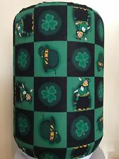 ST. PATRICKS DAY HAT PIPE 5 GALLON WATER COOLER BOTTLE COVER KITCHEN DECORATION