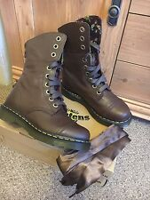 Brown leather Dr Martens Triumph Aimilita Boots..Size 4 (37) ONLY TRIED ON