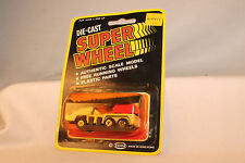 SOMA SUPER WHEELS HONG KONG DIECAST CRANE TRUCK, NEW ON CARD, LOT A