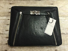 BOTKIER TURNER IPAD CASE BLACK NWD ZIPPER BROKEN SPOTS