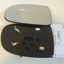 CORSA C/ Tigra Left Side Wing Door Mirror Glass 2001-2006 with Backing Plate