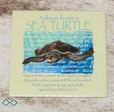 "LEANIN TREE ""Advice From A Sea Turtle""~Fridge Magnet *Stay Calm Under Pressure*"