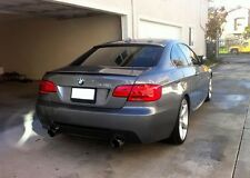 BMW E92 E93 3 Series Coupe Rear Boot Trunk Spoiler Lip Wing Sport Trim Lid M3 M-