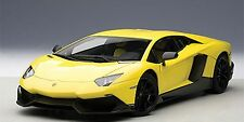 AUTOART LAMBORGHINI AVENTADOR LP720-4 50th ANN YELLOW GIALLO MAG 1:18*New!