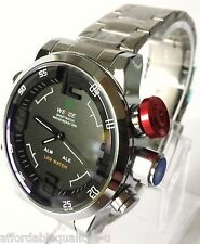 diesel keyring + Mens Weide Sports/Diver style watch, BOXED, stainless! Stunning