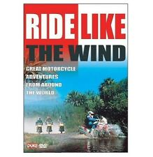 Duke - RIDE LIKE THE WIND Motorcycle Adventures Motorbike DVD - New - SAVE 44%