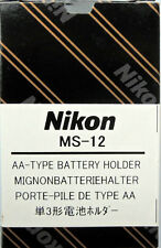 Nikon MS-12 AA battery holder for F100 SLR Body Genuine