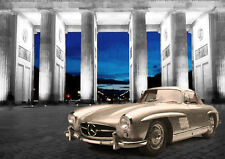 AUTOMOTIVE ART - MERCEDES GULLWING - LIMITED EDITION (25)