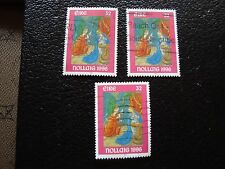 IRLANDE - timbre yvert et tellier n° 976 x3 obl (A33) stamp ireland