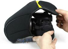 Soft Camera Case Bag Pouch Protector Cover for Nikon D90 D7000 D80 18-105 lens
