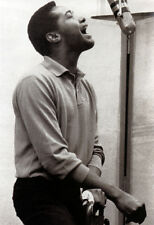 Sam Cooke Poster, Singing, In the Studio, R&B, Soul Music Legend