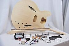 NEW DO IT YOURSELF TRINI LOPEZ  GROHL STYLE ELECTRIC GUITAR BUILDER KIT