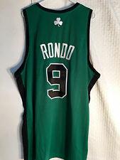Adidas Authentic NBA Jersey BOSTON Celtics Rajon Rondo Green Alternate sz 52