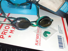 NEW Speedo Vanquisher 2.0 Plus Mirrored Goggle  Kelly Green New in retail pack