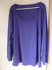 TANIA KAY LONG SLEEVE SCOOP NECK TOP SIZE 22