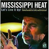 Mississippi Heat-Lets Live It Up CD NEW