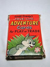 Vintage Walt Disney TRUE LIFE ADVENTURE CARDS Russell Card Game 153-8