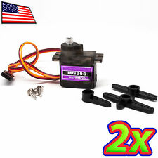 [2x] Metal Geared 13g Servo for RC Plane, Quad, Drone - MG90S compatible