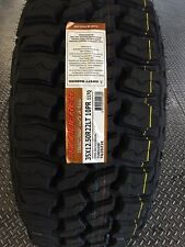 4 NEW 35X12.50-22 Thunderer Trac Grip 2 MT Tires 35 12.50 22 12.50R22 Mud Tires