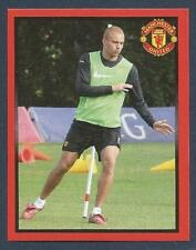 PANINI MANCHESTER UNITED 2008/09 #046-WES BROWN IN TRAINING