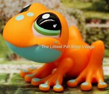 LITTLEST PET SHOP ❁ ORANGE TREE FROG #1570 ❁ NEW ❁ COLLECTORS PACK SPOTTED FROG