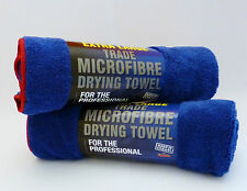 2 x Giant Miracle Dry Microfibre Drying / Cleaning Towel. 60cm x 90cm