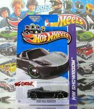 Hot Wheels 2013 SPECIAL SCAVENGER HUNT 6/6 2008 Tesla Roadster MET. BLACK,US,NEW