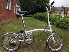 Brompton Bicicletta h6l *** condizioni eccellenti *** difficilmente USATO ***