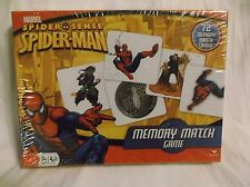 NEW! Marvel Spider-Man Memory Match Game by Cardinal Spider Sense FREE SHIPPING!