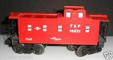 Vintage 1990's Lionel O Gauge Red T & P #16531 SP Type Radio Equipped Caboose