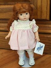"""Heubach Repro """"Chassity"""" Jeannie Di Mauro All Porcelain Jointed Doll 76/2000, 8"""""""